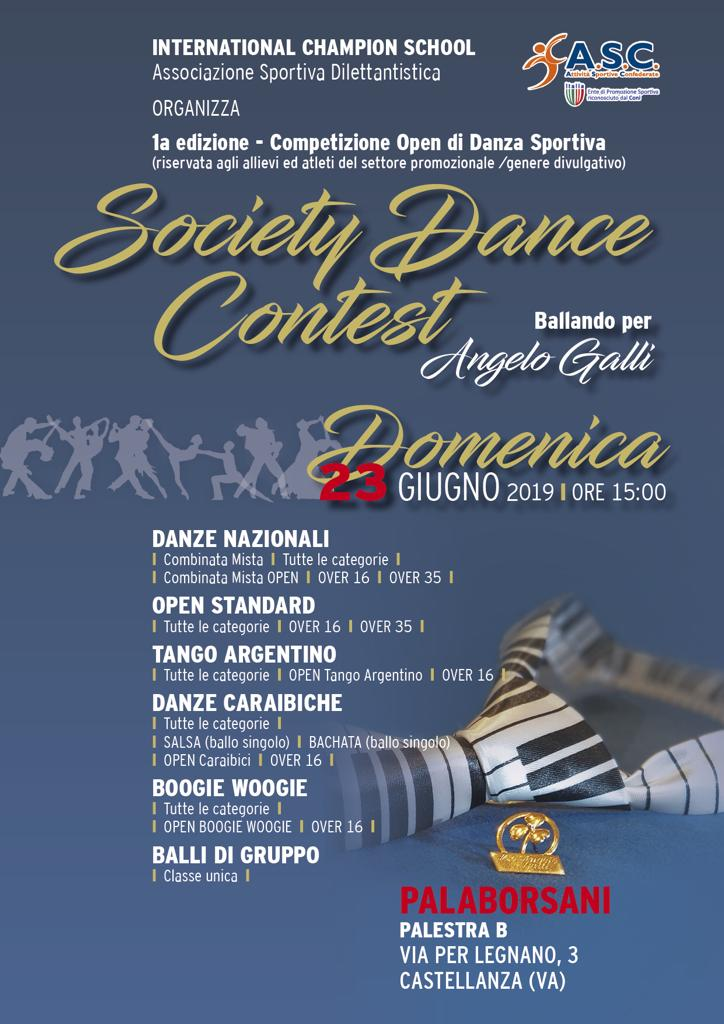 SOCIETY DANCE CONTEST